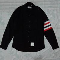 Thom Browne Four bar men shirt/kemeja/baju/jeans/denim