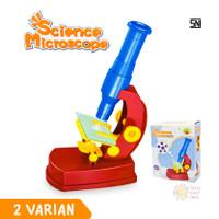 Mainan Anak Science Microscope Mini Mikroskop Sains Science Edukasi
