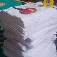 kain majun putih bahan kaos dalam singlet kiloan bukan hings