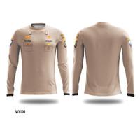 kaos baju jersey jersy jersi sepeda olahraga seragam polisi polri