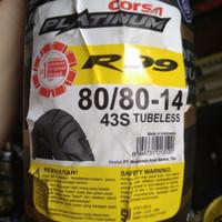 Ban motor matic Vario beat pelek 14 Corsa 80 80 ring 14 R99 Tubeless