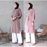 Pakaian Atasan Wanita Muslim | Tafia Tunik | Terminal Grosir