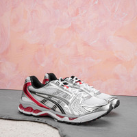 Asics Gel-Kayano 14 Men's Shoes White Classic Red