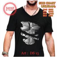 JAVAJOL-kaos distro cowok murah Unisex/Distro Hawk Batman Superhero - Hitam PE, M
