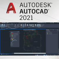 Autodesk AutoCaD 2021 for MAC Full Version (DVD)