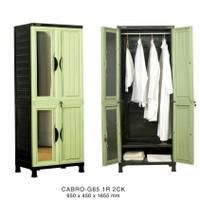 lemari pakaian plastik napolly gantung CABRO 85