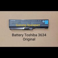 BATERAI ORI TOSHIBA 3634 L510 L515 M505 M300 U405 U505 L310 M305 U400
