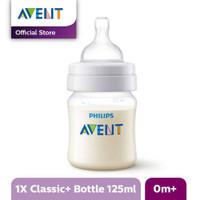 Philips Avent Clas+ Baby 2 Pcs 125ml Newborn Flow 0m+ SCF560/27 Putih
