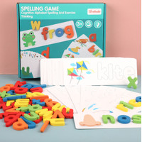 Mainan Edukasi Anak Spelling Game Belajar Mengeja Treehole