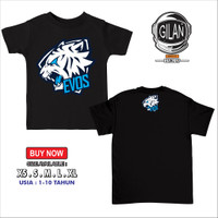 Kaos Baju Anak LOGO EVOS E SPORT TEAM Kaos Anak Gamer - Gilan CLoth - Evos Hitam, XS