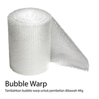 Tambahan Packaging Bubble Warp