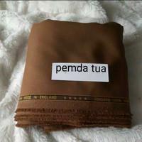 Bahan kain pemda/khaki/keki/seragam dinas/kantor/semi wool - pemda tua, 50cm