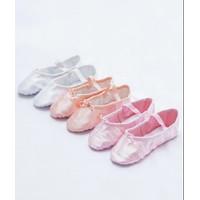 Sepatu Ballet Anak Chandra Satin Berkualitas Sepatu Ballet Satin