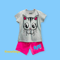 Kaos Atasan Anak Kucing Cute Girl - 7