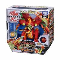Bakugan Battle Planet EX001 Dragonoid Maximus Mainan Anak Original