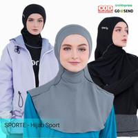 Jilbab Hijab Kerudung Sport Sporty Olahraga Senam Renang Sporte SH06
