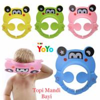 Baby Shower Cap Topi Mandi Anak Bayi / Topi Keramas Anak Bayi Motif