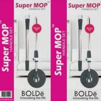 Bolde Super Mop Handle Set Gagang Tongkat Alat Pel Lantai