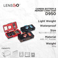 Case Battery camera & Memory Card LENSGO Case D950
