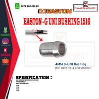 EASTON Uni Bushing Alumunium Untuk Arrow Platinum 1516 (Fit G Nock)