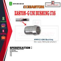 EASTON Uni Bushing Alumunium Untuk Arrow Platinum 1716 (Fit G Nock)