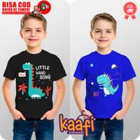 Baju Kaos Atasan Anak Karakter Dinosaurus - Little Dino, S