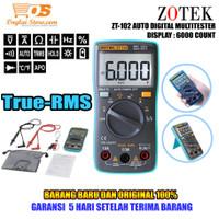 MULTITESTER DIGITAL ZT102 AVOMETER ZOTEK ZT 102 MULTIMETER ZT-102 ORI
