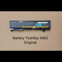 Baterai Toshiba Original PA3465U A80 A85 A100 A105 A110 A130 A135