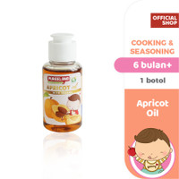 Pureeland Apricot Oil / MPASI Bayi Organik / Bumbu MPASI / Bahan MPASI