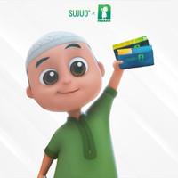 Customize (PO) Sajadah SUJUD X NUSSA KIDS|Portable Pocketsize Travel