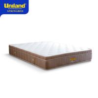 Uniland Springbed 120 x 200 Rivera Plushtop Paris Hanya Spring Bed - Rose Gold