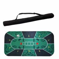 Karpet Mat Texas Holdem Poker Baccarat Blackjack Sic Bo 120cm x 60cm