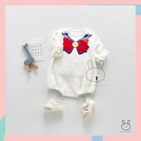 Baju Jumper Tebal / Romper Sweater Anak Bayi Perempuan Sailor Moon