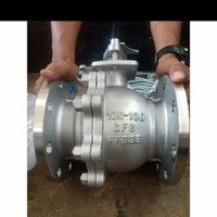 2 inch Ball valve Stainless 304 Jis 10k / Ball valve Flange ss