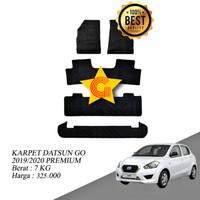 Karpet Karet Mobil Datsun Go 2019-2020 Premium Fullset
