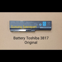 Battery Laptop Toshiba Pa 3817, L645, C640, L740, L745 Original