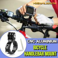 Bike Handlebar Mount Sepeda GoPro Yi BPro Aluminium Bike Mount