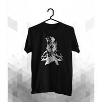 Spitze-Kaos Distro Pria/T-shirt Distro/Premium/ Sasuke - C030