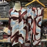 PIYAMA LD 120 TOPAN baju setelan wanita kekinian setelan tie dye wanit