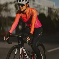 Baju Sepeda Cycling Jersey Cowok/Cewek/Unisex ProBasic - CORAL