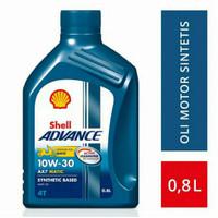 oli shell advance ax7 matic 10w30 0.8L