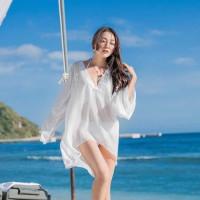 bikini outer dress pantai luaran bikini wanita bra baju cardigan murah
