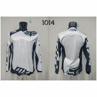 Baju JERSEY 1014 Kaos Balap Sepeda Motor Trail Downhill Trek Bike MTB