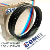 Velg Comet U Shape 300 350 SET Ring 17 Black Original not tdr tk excel