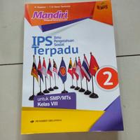 buku mandiri IPS terpadu untuk SMP kelas 8 K 2013 Erlangga