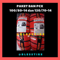 Paket Ban Tubeless PCX Maxxis Victra Uk 100/80-14 & 120/70-14