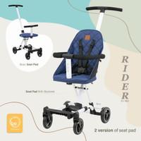 Babyelle rider sp 1699 convertible baby elle stroller board cabin size - BLUE 1688