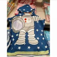 Handuk karakter anak / handuk hoodie / handuk ponco/ handuk baju renan