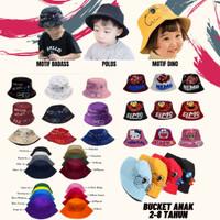 Topi Bucket Anak Bayi Motif Premium