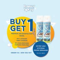 Buy1Get1Free POWER SPRAY Pre. Air Disinfectant 500 ml (2 pcs)